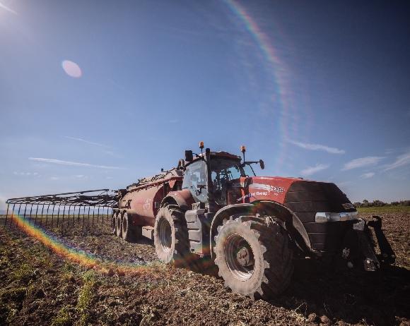 CSR manure truck
